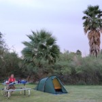 Camping in Shoshone